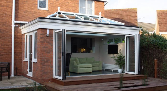 Glass conservatory to extend your home